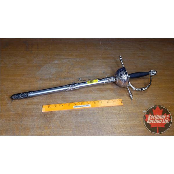 "Decorative Sword w/Sheath (24"")"