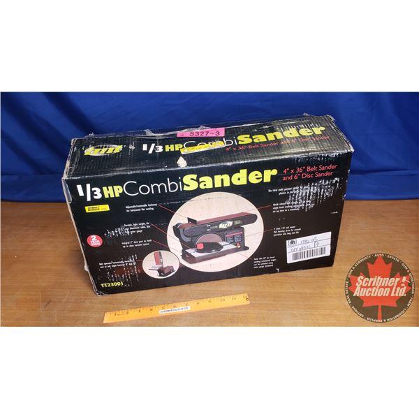 """TMT """"Combi Sander"""" (4"""" x 36"""" Belt Sander - 6"""" Disc Sander) (New in Box)"""