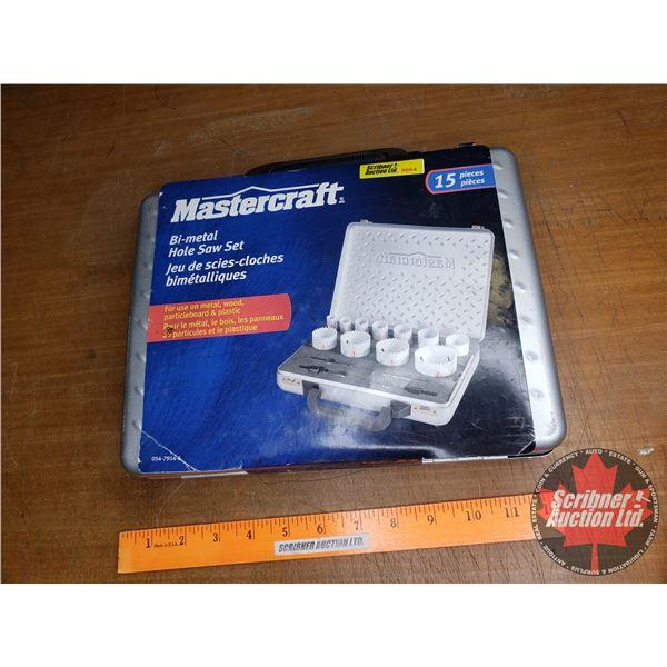 Mastercraft Bi-Metal Hole Saw Set 15pcs (New in Box)