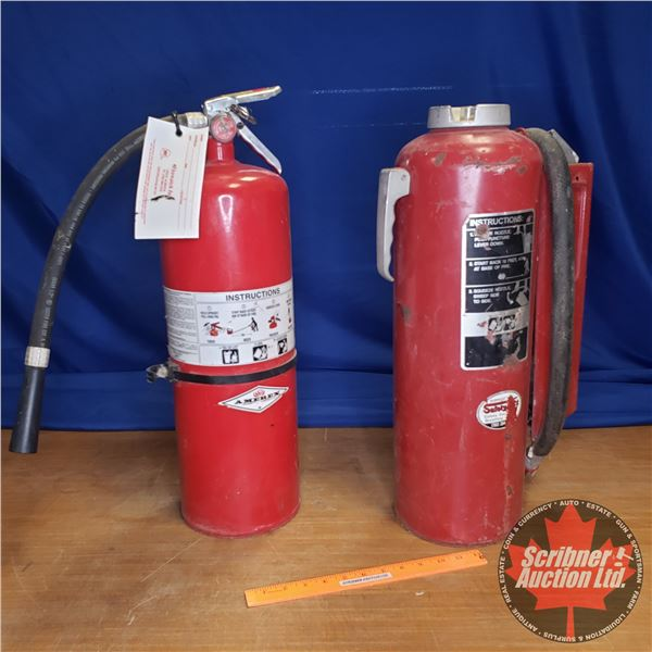 """Fire Extinguishers (2) (24""""H)"""