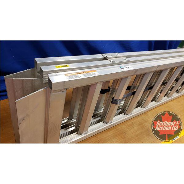 "Highland Folding Alum. ATV etc RAMP (69""H x 45""W) (1500lb Capacity) (Never Used)"