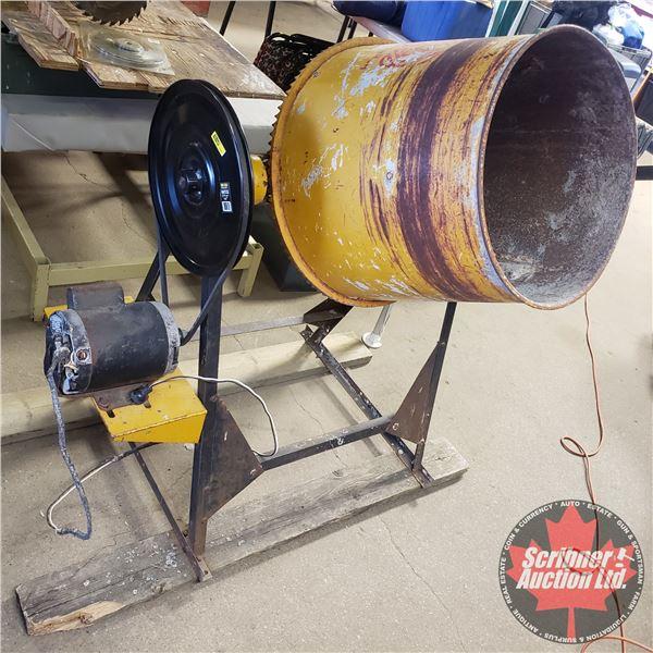 "Monarch Cement Mixer (42""H x 48""W x 29""D)"