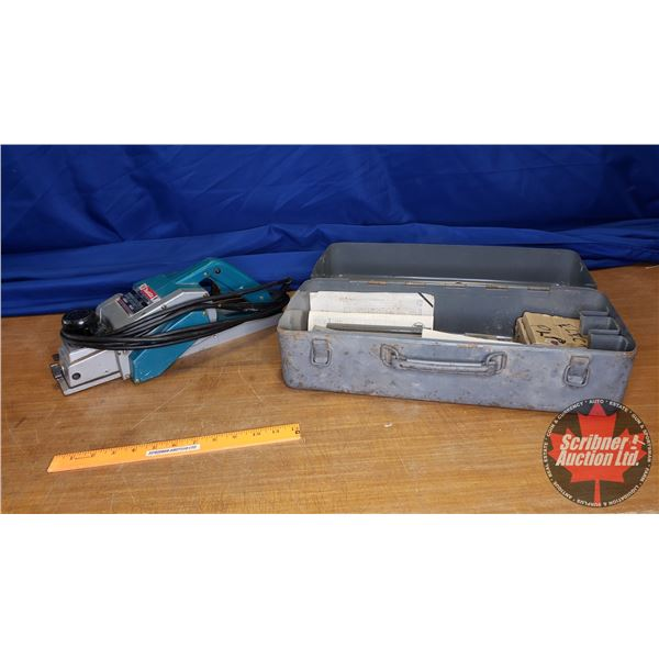 Makita Power Planer Model 1100 with Carry Case