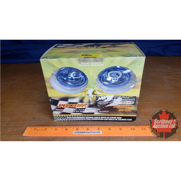 Pilot (H.I.D.) Driving Lights (New in Box)