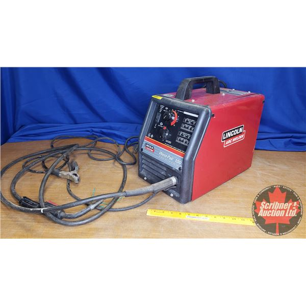 Lincoln Wire Feed Arc Welder : Model Weld-Pac 100