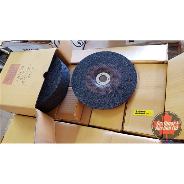 "Case Lot: 7"" Angle Grinder Discs (50pcs Total)"