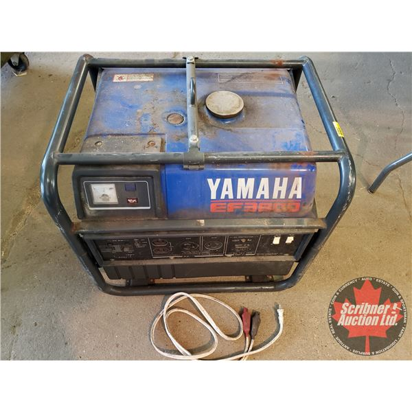 """Yamaha EF3800 Generator (21""""H x 24""""W x 19""""D) (Not Running / Does Turn Over)"""