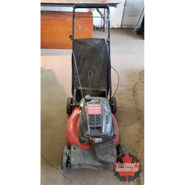 "Lawn Mower: Yard Machines Front Wheel Self Propelled (21"")"