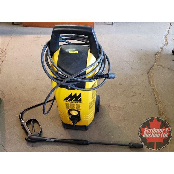 Pressure Washer: McCulloch 1600psi