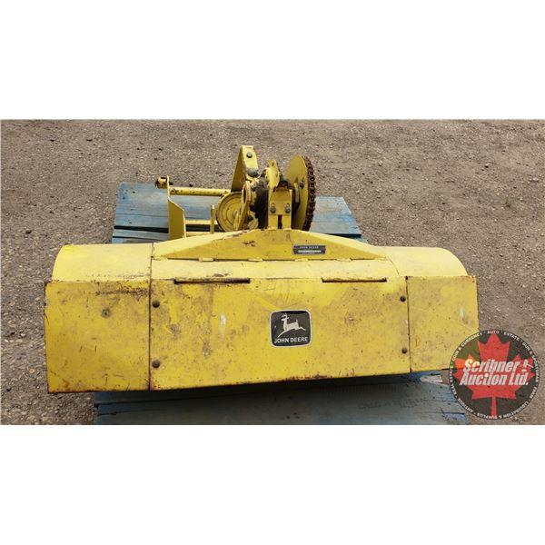 "John Deere Roto Tiller Attachment for Garden Tractor (40""W) (S/N#F031H 403336M)"