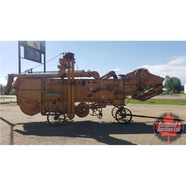 "CASE Threshing Machine 22X (S/N#550237) (Approx 25' Long) (126""H x 67""W)"