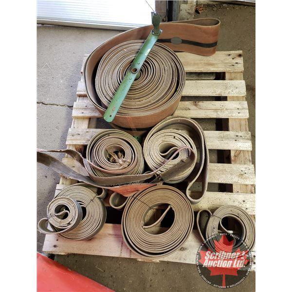 Pallet Lot: Tractor / Thresher Belting