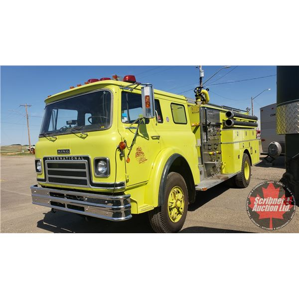 1977 International Cab Over Fire Truck (Fully Functional, De-Commissioned for Fire Department use)