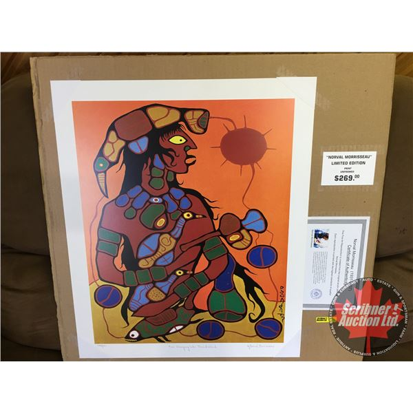 """Limited Edition Print """"by Norval Morrisseau"""" : """"Man Changing Into Thunderbird"""" 282/950 (Unframed Pri"""