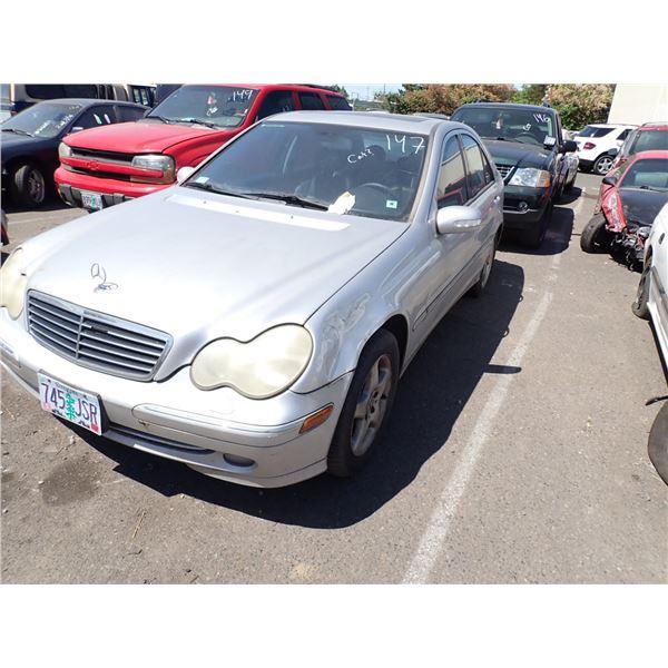2002 Mercedes-Benz C320