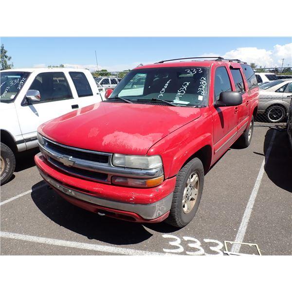 2002 Chevrolet Suburban