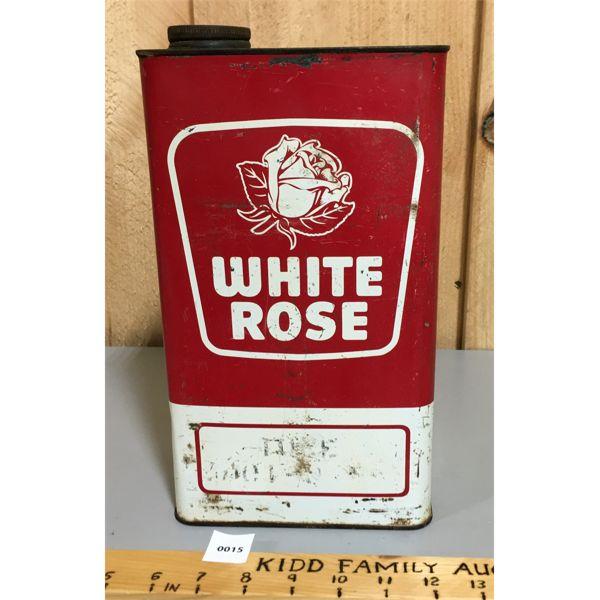WHITE ROSE GALLON RED & WHITE