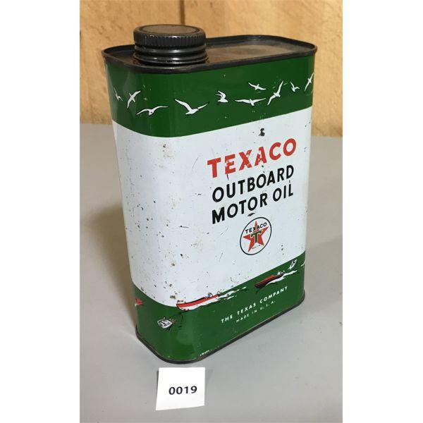 TEXACO OUTBOARD MOTOR OIL