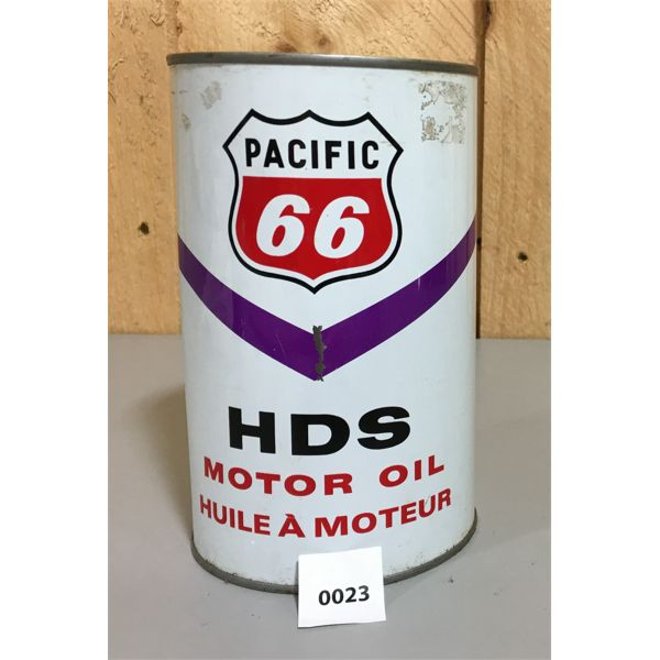 PACIFIC 66 HDS MOTOR OIL QUART