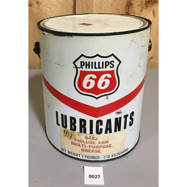 PHILLIPS 66 LUBRICANTS 7 POUND CAN