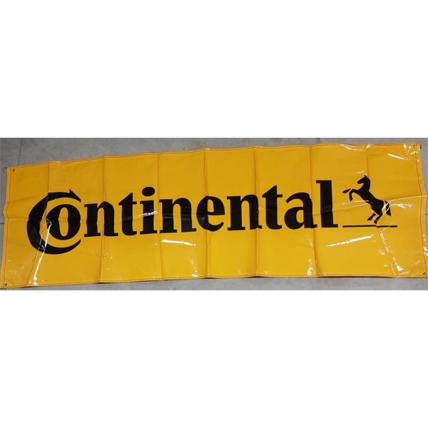 CONTINENTAL TIRES (HORSE GRAPHIC) BANNER