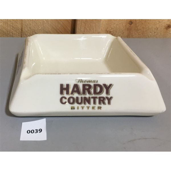 THOMAS HARDY COUNTRY BITTER ASH TRAY