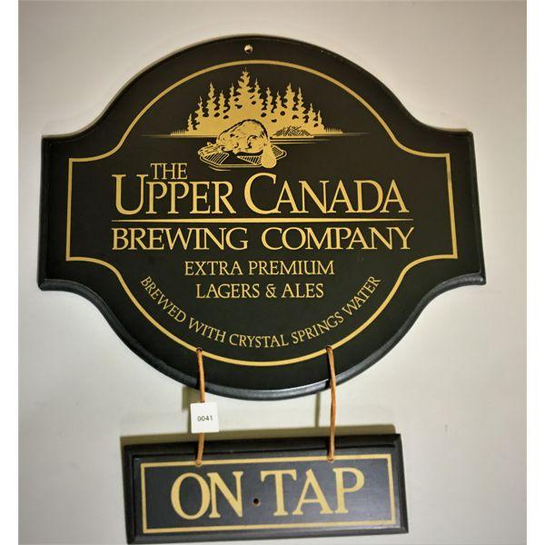 UPPER CANADA BREWING COMPANY SIGN