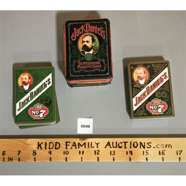 JACK DANIEL'S GENLEMEN'S PLAYING CARDS