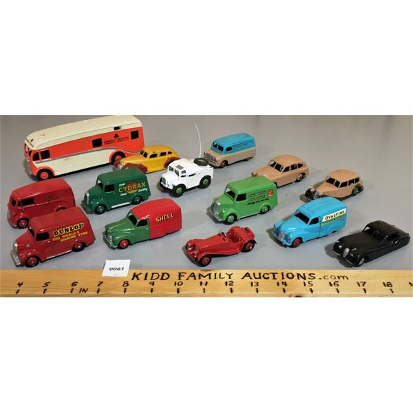 LOT OF VARIOUS DINKY CARS