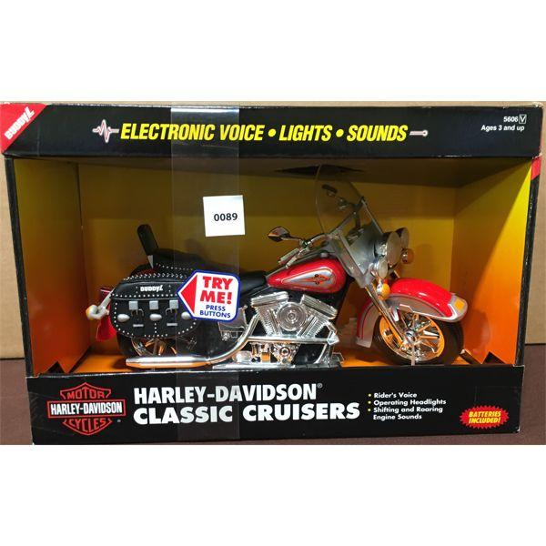 BUDDY L HARLEY DAVIDSON TOY MOTORCYCLE