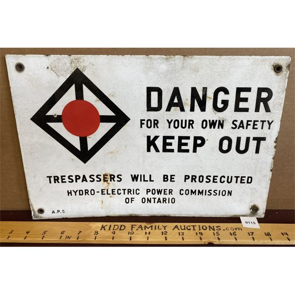 DANGER KEEP OUT SSP