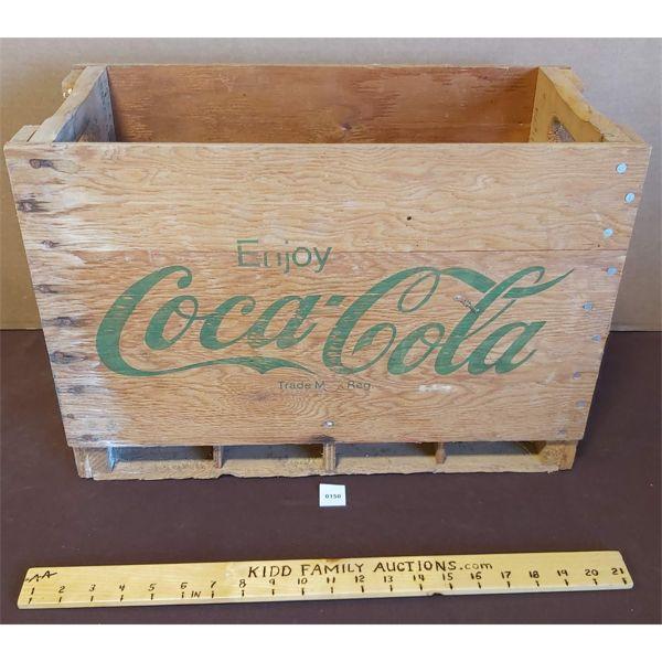 COCA COLA WOODEN BOX