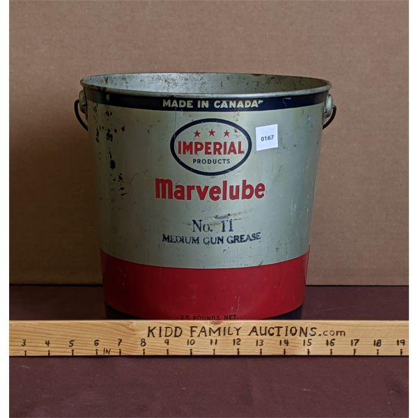 LOT OF 1 - IMPERIAL PRODUCTS MARVEL LUBE PAIL