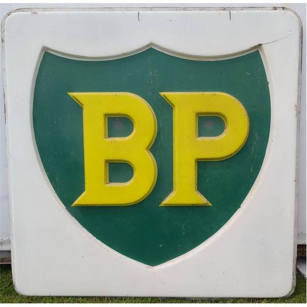 VINTAGE BP PLASTIC SIGN
