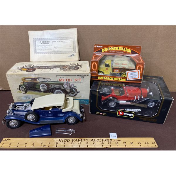 LOT OF 3 SCALE MODELS