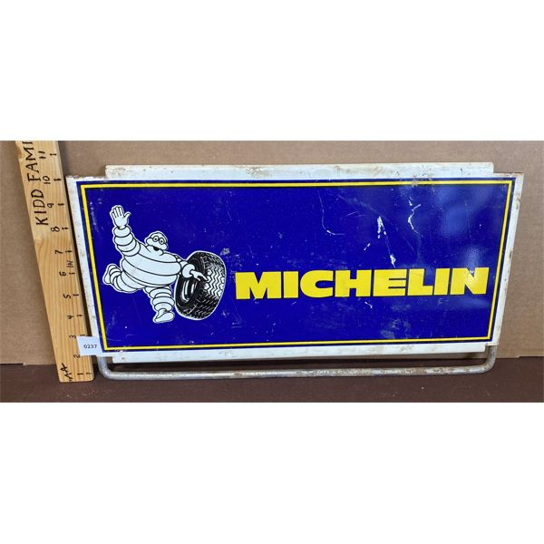 "SSP MICHELIN DISPLAY TOPPER - 9"" X 19"""