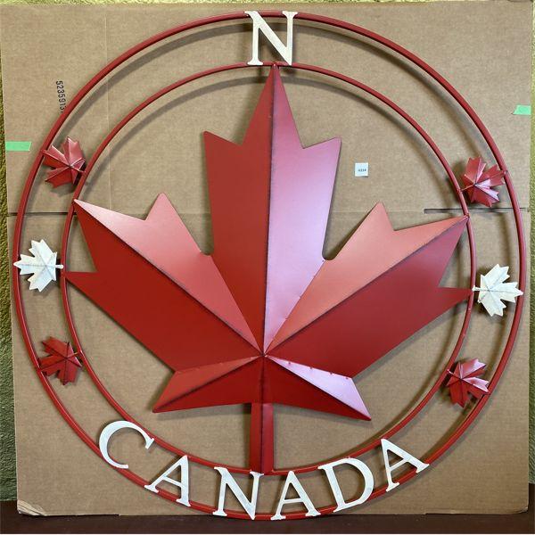 """CANADA NORTH 3D DECO SIGN - 39"""""""