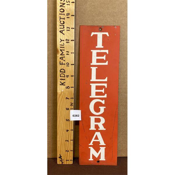 TELEGRAPH SIGN - SST