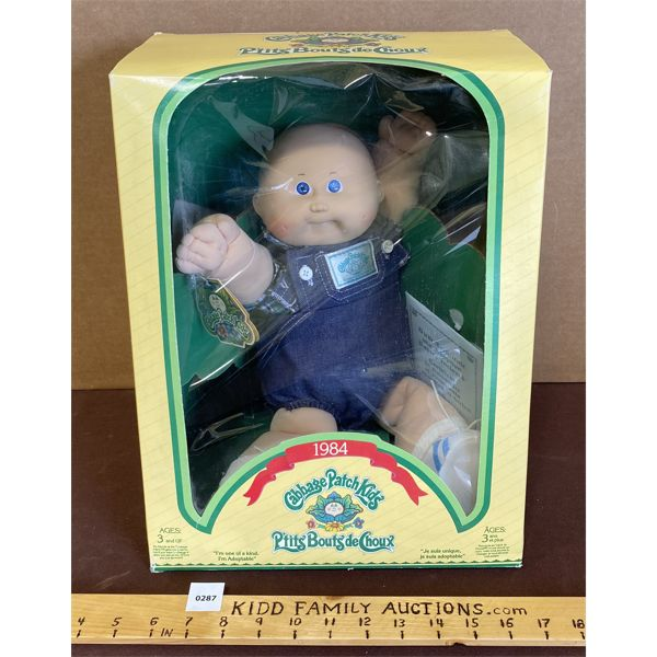 CABAGE PATCH DOLL - ALFONZO GILBERT - AS NEW