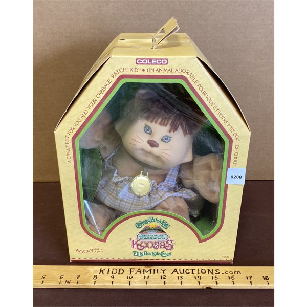 CABAGE PATCH DOLL - KOOSAS - AS NEW