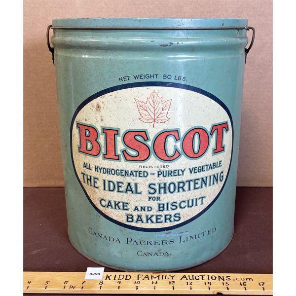 """BISCOT TIN - 14.5"""" X 12.5"""""""