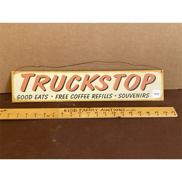 TRUCK STOP SST SIGN - REPRO