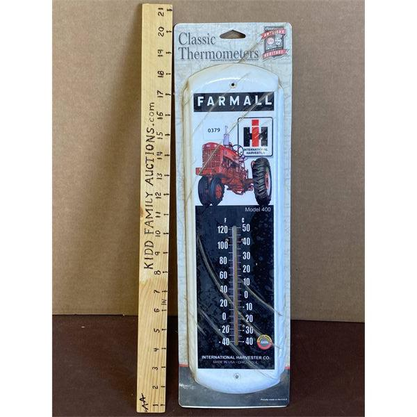 IH FARMALL THERMOMETER - AS NEW