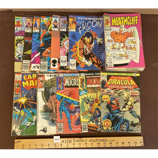 LOT OF MARVEL COMICS - INCLUDES QTY OF 1ST ISSUES