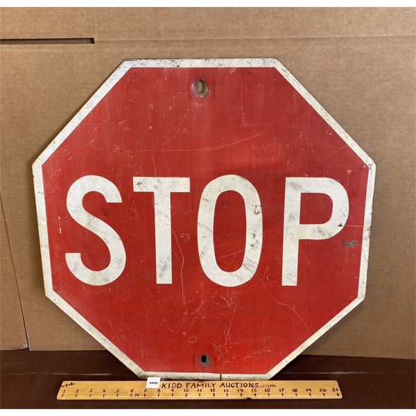 """STOP SIGN - 23.5"""""""