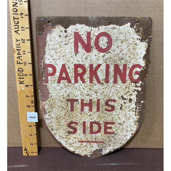 "NO PARKING SIGN - 14"""