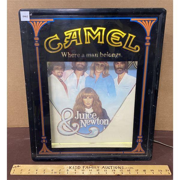 CAMEL CIGARETTES ILLUMINATING SIGN