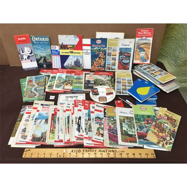 LARGE LOT OF ESSO COLLECTIBLES