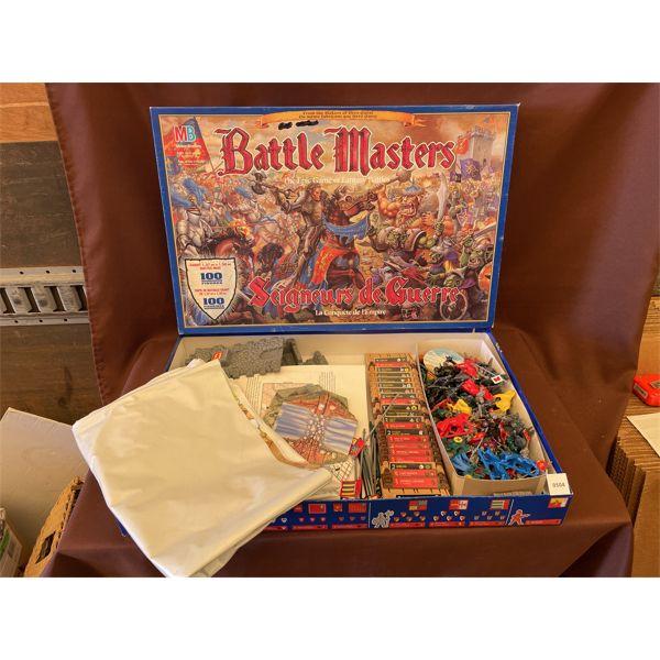 MILTON BRADLEY 'BATTLE MASTERS' GAME