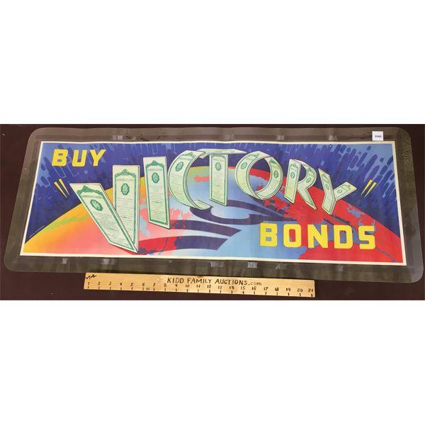 VINTAGE VICTORY BOND POSTER